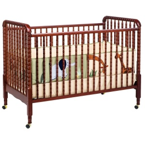 Davinci Jenny Lind 3-in-1 Convertible Crib Brown
