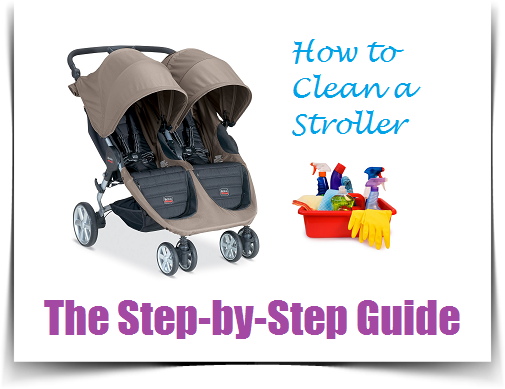 How to Clean A Stroller Guide