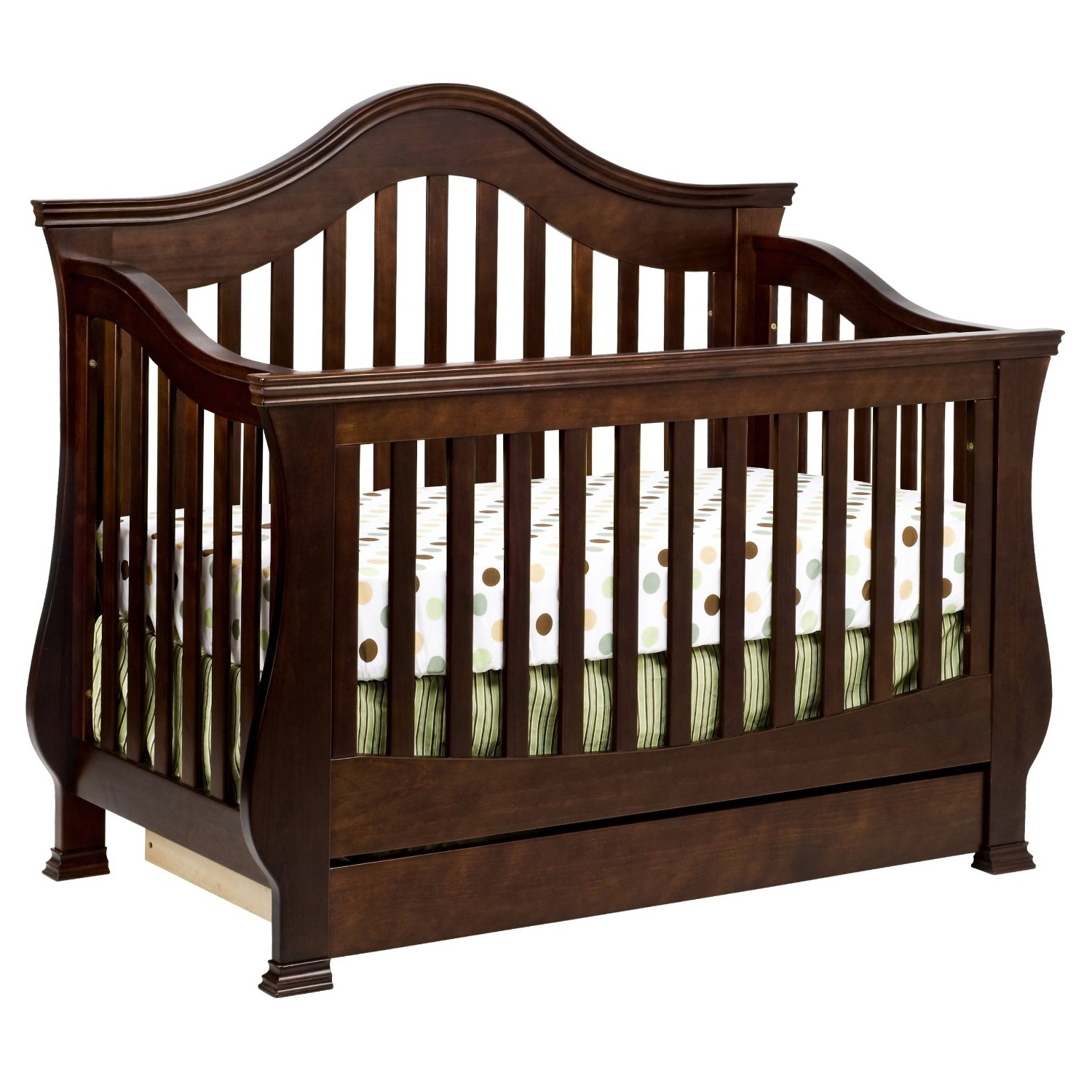 Best crib for baby - Million Dollar Baby Classic Ashbury 4 In 1 Convertible Crib