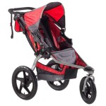 BOB Revolution SE Single Stroller Red