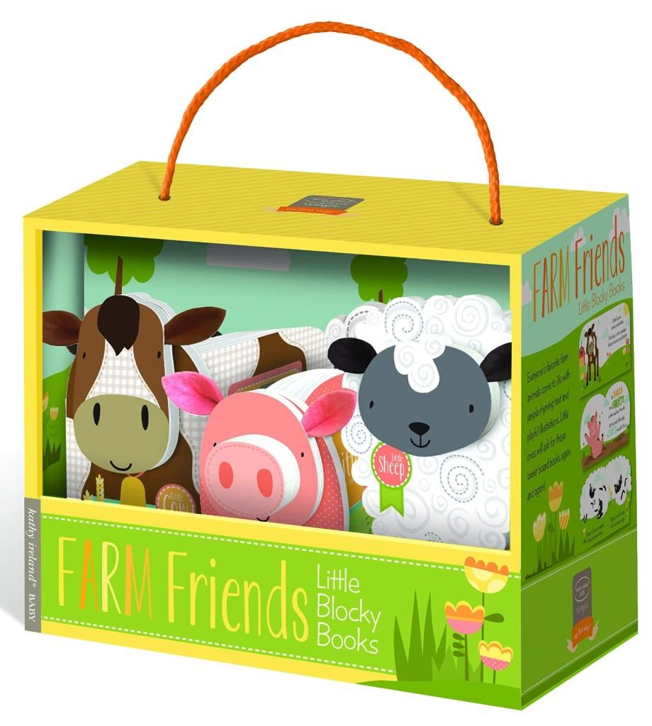 Bendon Publishing Kathy Ireland Farm Friends Blocky Book Box Set