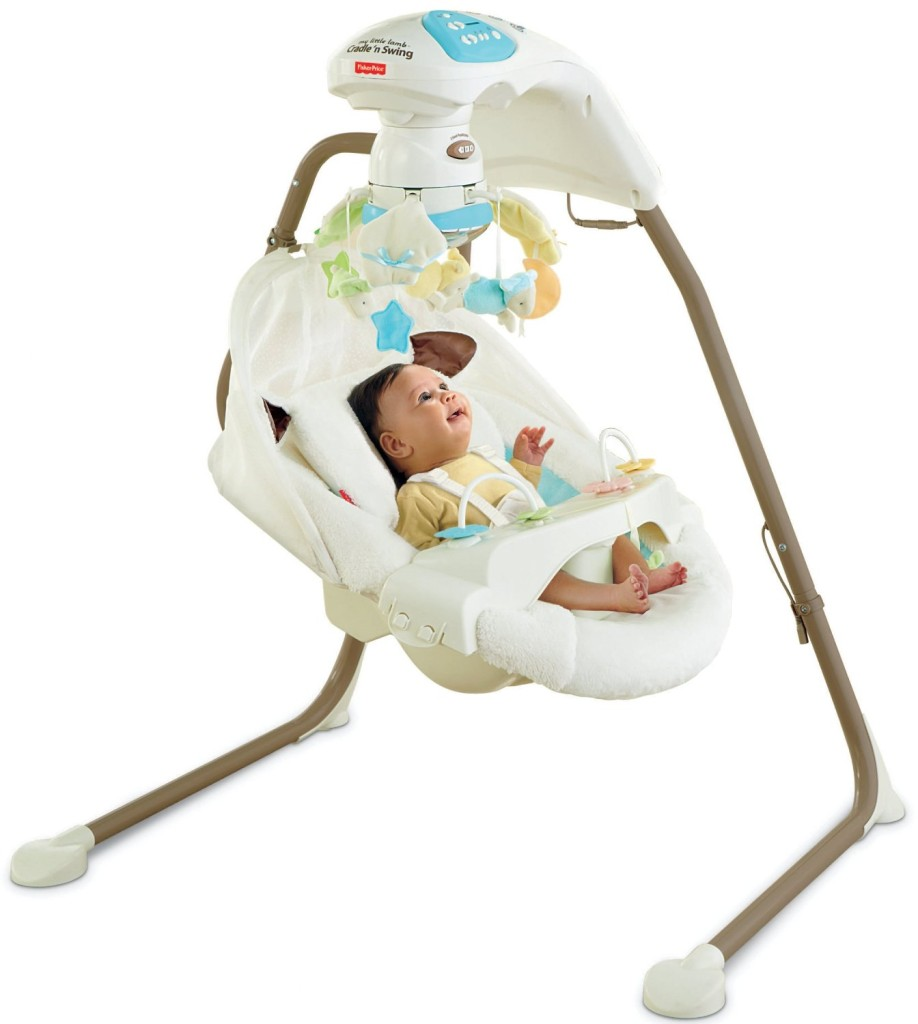 Fisher-Price Cradle n Swing with AC Adapter