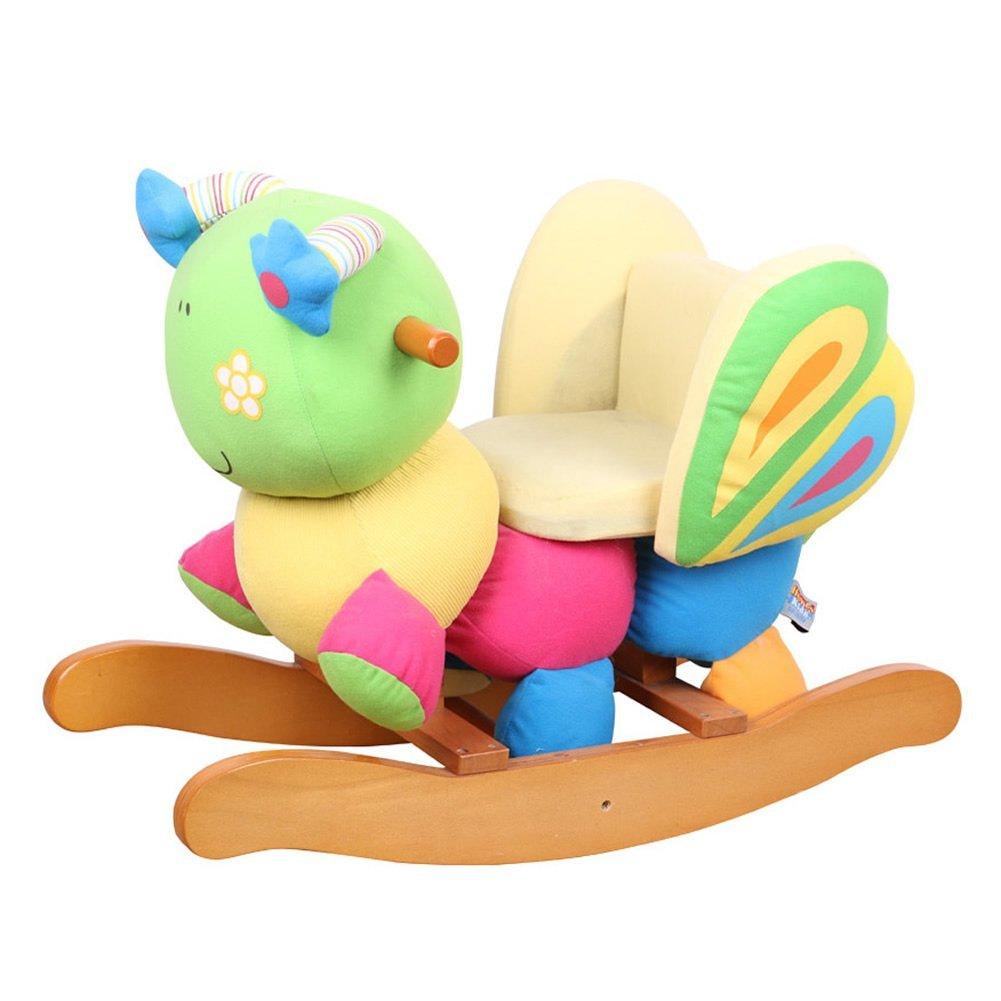 Hessie Children Rocking Horse Butterfly