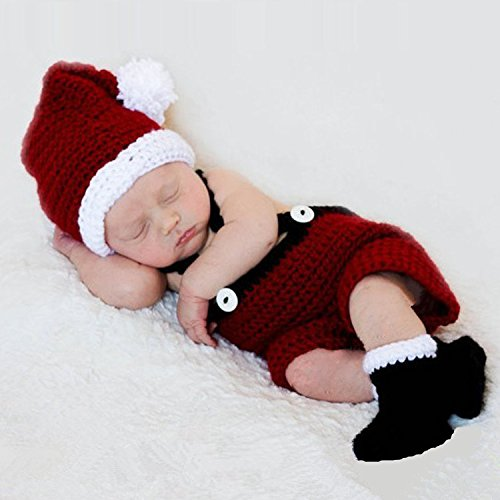 Kalevel Infant Newborn Cute Baby Christmas Outfits