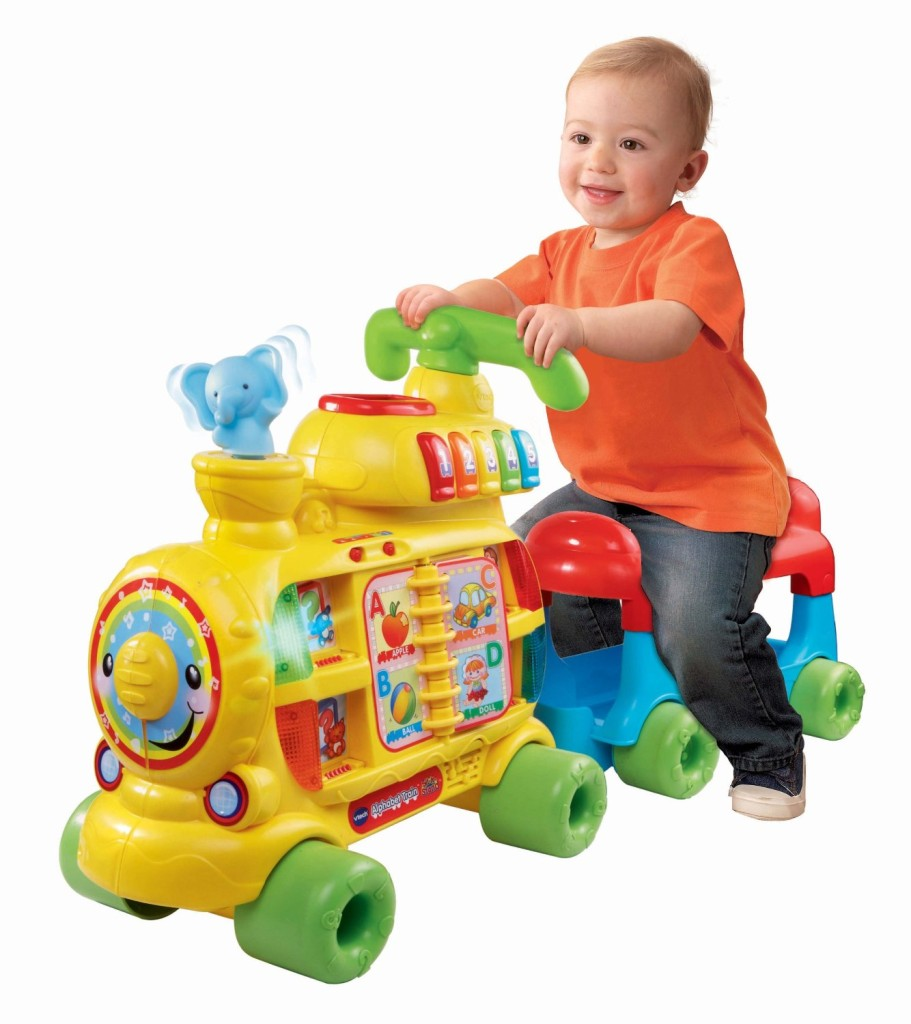 VTech Sit-to-Stand Alphabet Train baby1