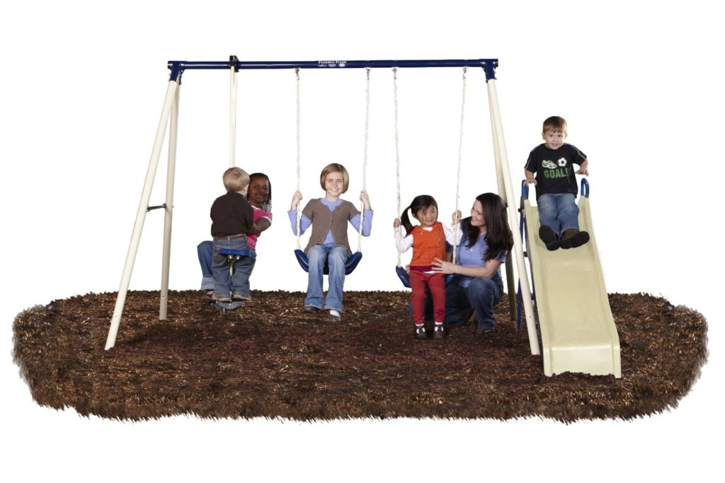 Flexible Flyer Swing N Glide III Swing Set