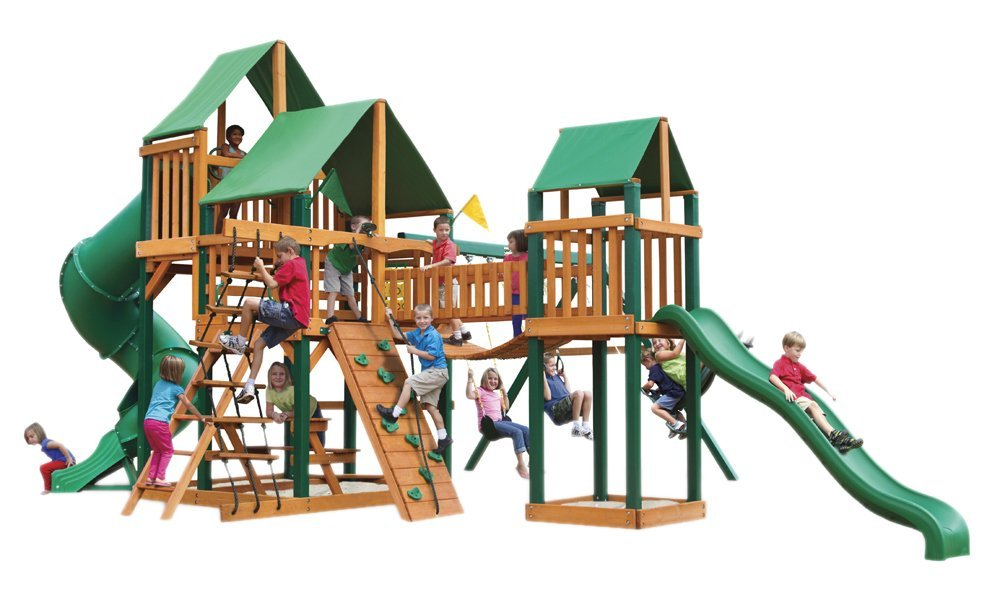 Gorillaplay Sets Home Backyard Playground Treasure Trove Swing Set